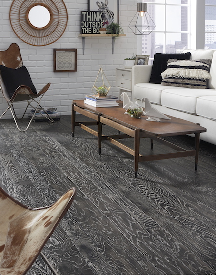Gray Hardwood With Matte Finishes Trending