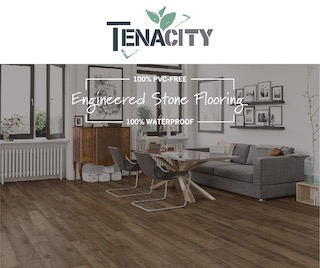 Tenacity Engineered Stone Waterproof Flooring