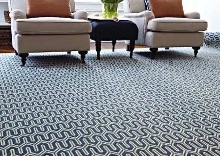 Stanton Carpet Baltimore Nautical Blue